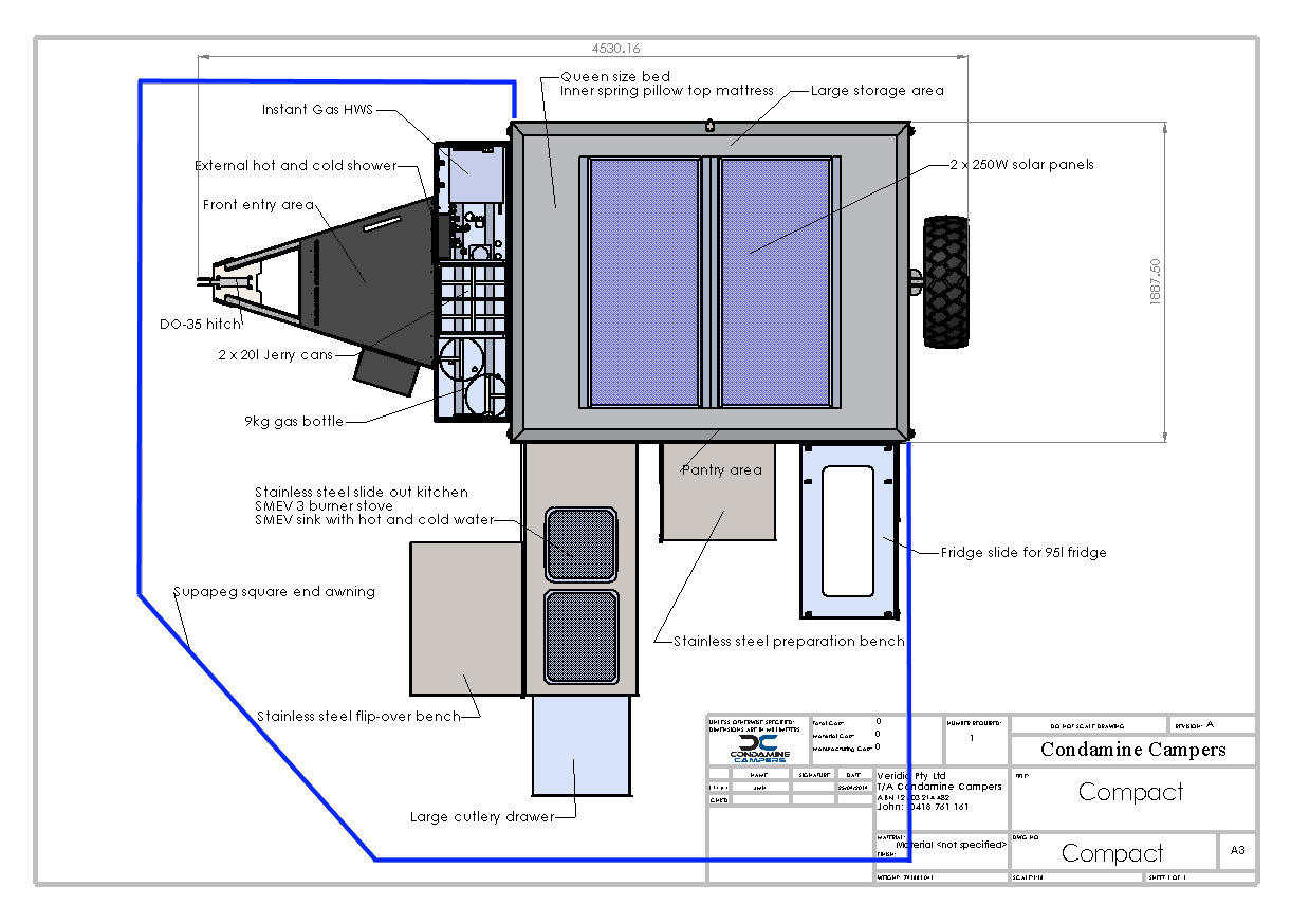 Compact Camper - Layout